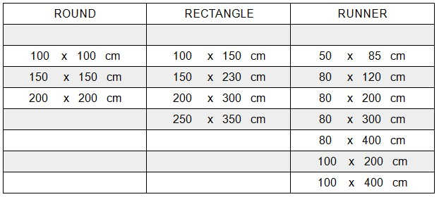 Carpet Sizes And Fitting Guidelines Persian Carpets Cape